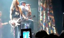Tony Romo Sings With Steel Panther