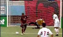 Your Spin Move Soccer Penalty Shot Sucks (Video)