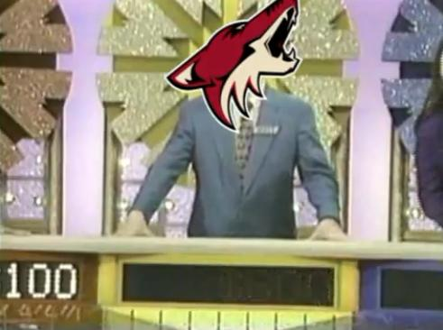 coyotes wheel of fortune