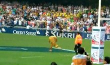 This Furry Streaker Has Some Moves