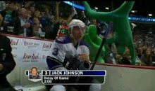 Jack Johnson, Meet The Canucks' Green Guys (Video)
