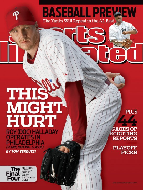 roy halladay si cover
