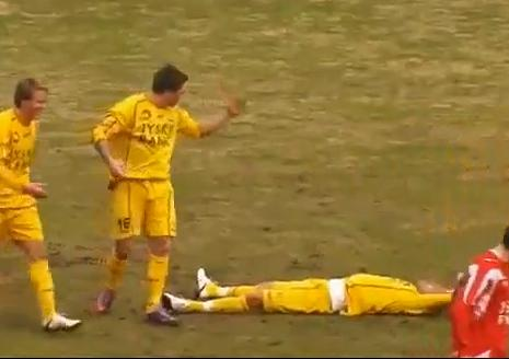 soccer goal celebration