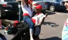 "Phillies' ""Fan On Wheels"" Gets A Lap Dance (Video)"