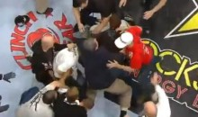 Live Strikeforce Broadcast Includes Post-Fight Cage Brawl (Video)