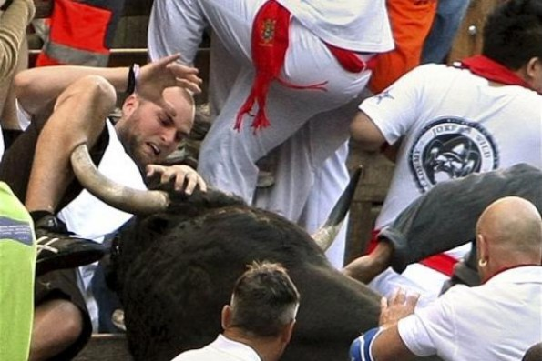 For anyone thinking about running with the bulls
