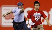 Phillies Fan Tased During Game (Videos)