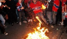 Stay Classy Habs Fans (Pics/Video)