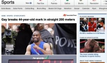 Tyson Gay Breaks 200-Meter Record Headline FAIL (w/Video)