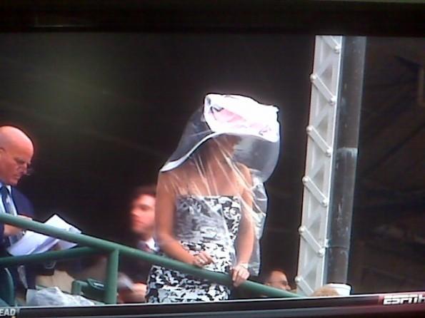 big fancy derby hat