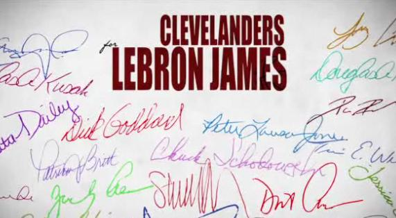 clevelanders for lebron james