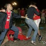 fan fight