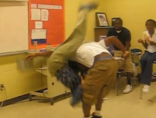 love body slams teacher