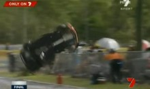 Fans Cheat Death After Scary MINI Challenge Crash (Video)