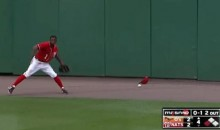 Nyjer Morgan Drops Fly Ball, Throws Temper (Video)