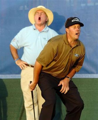 phil mickelson groin