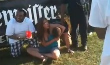 Preakness Infield Party Includes Woman-On-Man Assault