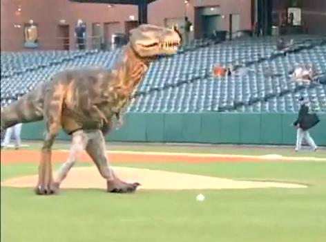 t-rex opening pitch