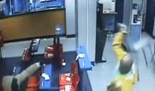 Rugby Player Martin Richardson Foils Robbery (GIF/w Video)