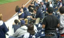 Yankees Fans Brawl in the Stands