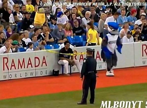 Blue Jays Ball Boy Disciplined by Ump