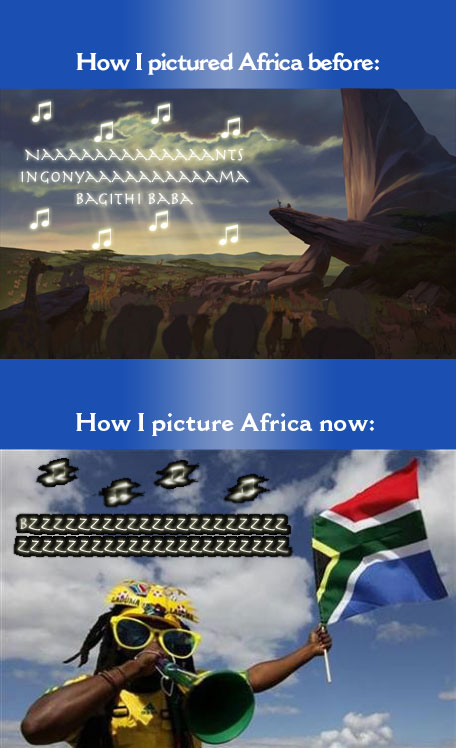 How I picture Africa