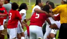 Just Another Female Soccer Brawl…Hair Pulling Included! (Video)
