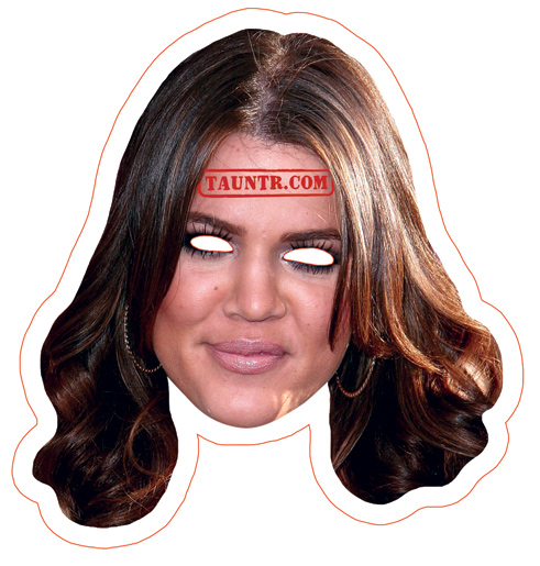 Khloe Kardashian mask