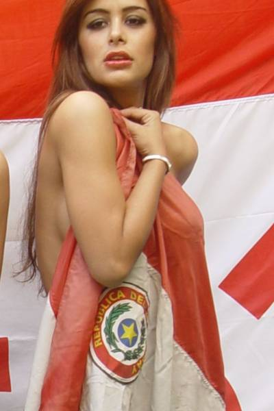 Larissa Riquelme Will Run Naked if Paraguay Wins The World Cup 1