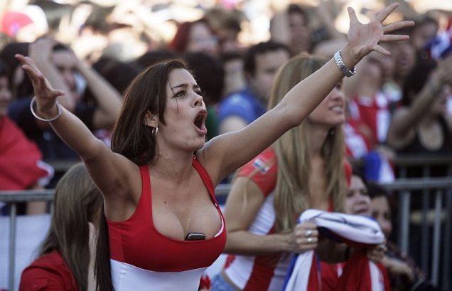Larissa Riquelme Will Run Naked if Paraguay Wins The World Cup 2