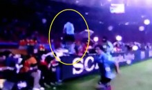"Luis Suarez's ""Leap Of Faith"" Goal Celebration (Video)"