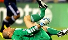 Revolution Goalkeeper Preston Burpo Suffers Horrifying Leg Break