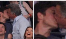 Sorry Bateman And Hoffman, But The Kiss Cam Sees All!
