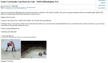 Chris Pronger Puts Stolen Pucks On Craigslist