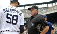 Jim Joyce In Tears As He Recieves Lineup Card From Armando Galarraga (Video)