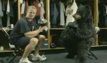 Justin Morneau 'Pumps Iron With Bears' In Latest McDonalds Commercial