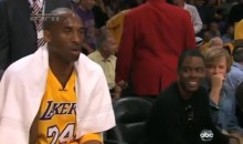 Kobe Ignores Chris Rock, But Phil Jackson Doesn't (Videos)