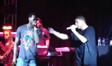 LeBron Joins Drake On Stage At Cleveland's House Of Blues