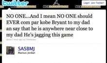 Marcus Jordan: Don't Compare Kobe To My Dad