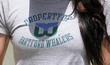 Megan Fox Shows Her Support For The Hartford Whalers