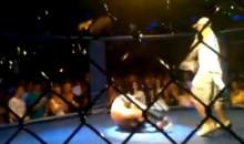 Worst MMA Victory Celebration Ever!