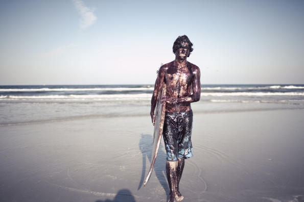 surfing the gulf oil spill