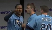 Longoria And Upton Have A Heated Exchange In Rays' Dugout