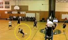 "This Is What They Call A ""Dome Shot"" In Volleyball"
