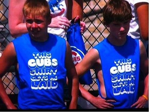 Does This Cubs Shirt Get These Kids Laid