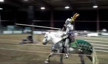 Is Jousting Back? (Video)