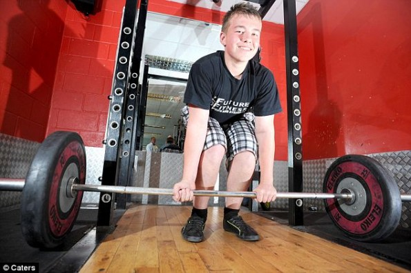 Kyle Kane is the World's Strongest Boy