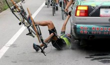 Picture Of The Day: Bike Rider Turned Roadkill