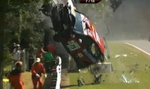 Spectators And Marshals Narrowly Escape Out-Of-Control Race Car (Video)