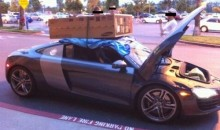 Picture Of The Day: The Audi R8 Is Lacking In Trunk Space